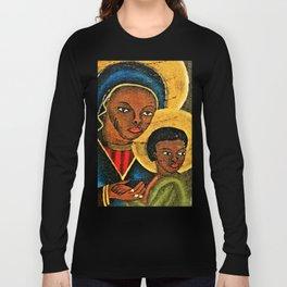 Agape, Virgin Mary ,Baby Jesus Long Sleeve T-shirt