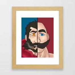 Graves X Braum Framed Art Print