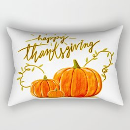 Happy Thanksgiving (2) Rectangular Pillow