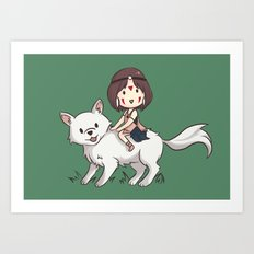 Princess Mononoke II Art Print