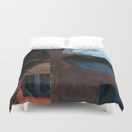 Abstract Reversed Duvet Cover