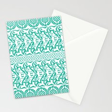 Lace pineapple pattern Stationery Cards