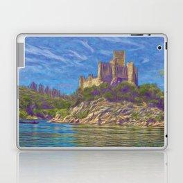 Almourol, Knights Templar fort Laptop & iPad Skin