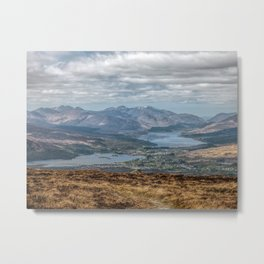 The Great Glen Scotland Metal Print