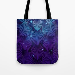 Variations on a Feather III - Raven Wing Deconstructed Tote Bag