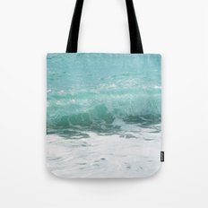 Curled Wave Tote Bag