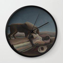 The Sleeping Gypsy Wall Clock