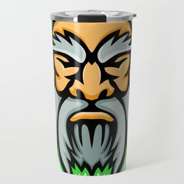 Cronus Greek God Mascot Travel Mug