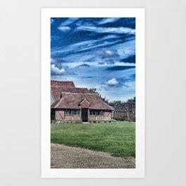 English Barn Art Print