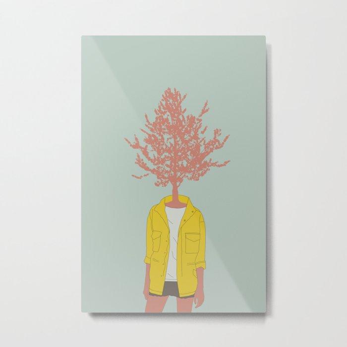 Woman Nature 4 Metal Print
