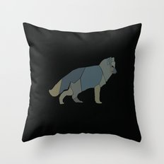 Magic Fox Throw Pillow