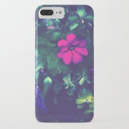 Gathering of Flowers - [Purple Version] iPhone Case
