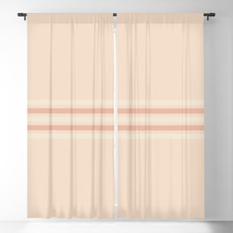 Retro Stripes 7 Blackout Curtain