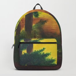 Day in the wetlands Backpack