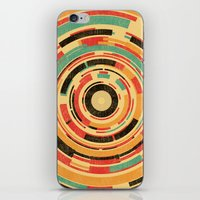 dave grohl iPhone & iPod Skins featuring Space Odyssey by Picomodi