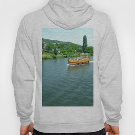 Ship on the River Hoody