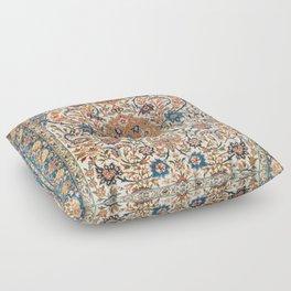 Isfahan Antique Central Persian Carpet Print Floor Pillow