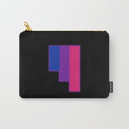 Bisexual and Biromantic Carry-All Pouch