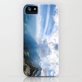 Meran // Mutspitze iPhone Case