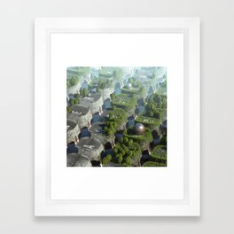 Keyworld Framed Art Print