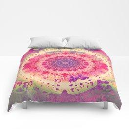 Anenome Mandala Comforters