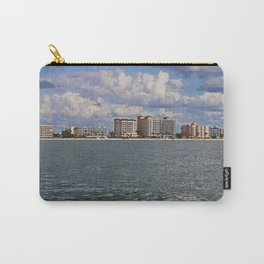 Fort Myers Beach from the Gulf Carry-All Pouch