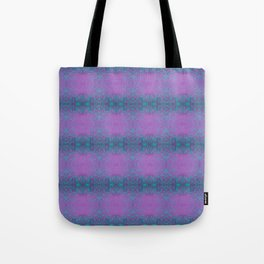 Dreamy turquoise and purple spirals  Tote Bag