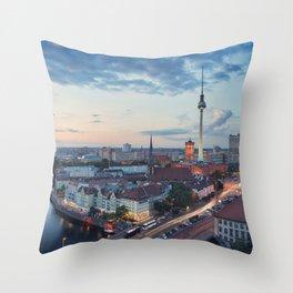 Berlin Classic Throw Pillow