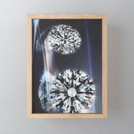 Diamond 1 Framed Mini Art Print