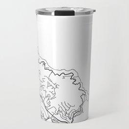TIBURON MAP PRINT Travel Mug