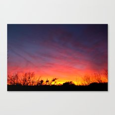 This place needs more poetry. Canvas Print