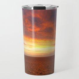 Alaskan Sunsets Travel Mug