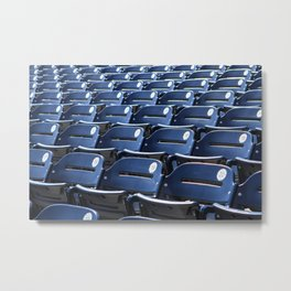 Play Ball! - Stadium Seats Metal Print