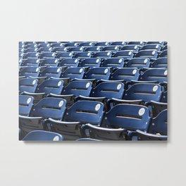 Play Ball! - Stadium Seats - For Bar or Bedroom Metal Print
