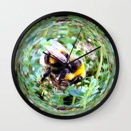 Bubblebee Bumblebee Wall Clock