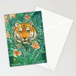 Tiger Tangle in Color Stationery Cards