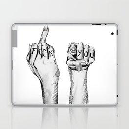 Fuck You Laptop & iPad Skin