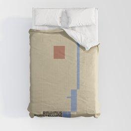 Bauhaus 1923 vintage remastered high resolution poster Comforters