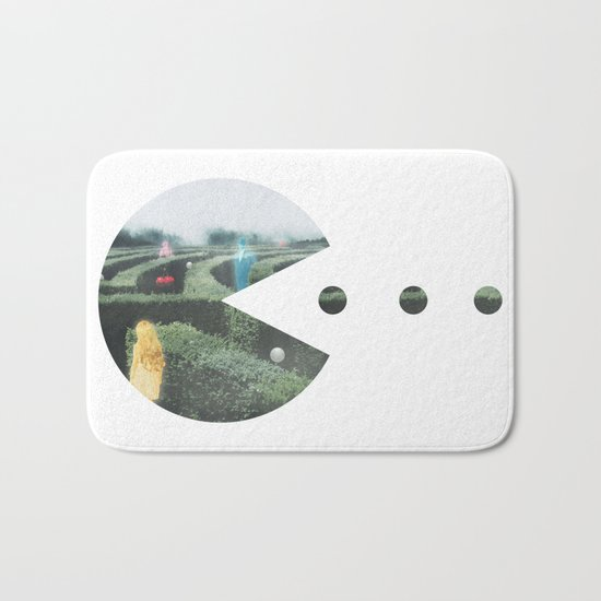 Sir, We Are Hunting Ghosts Bath Mat
