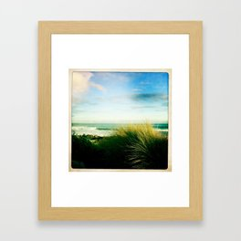 sea side Framed Art Print