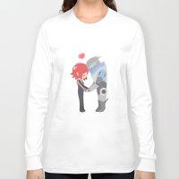mass effect Long Sleeve T-shirts featuring Mass Effect - Shakarian by Choco-Minto