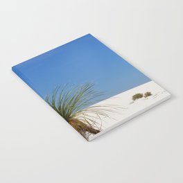 Living In The White Sand Dunes Notebook