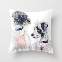 Kungy & Poppy Throw Pillow