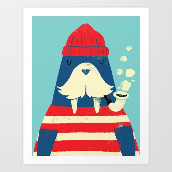 The Walrus Art Print