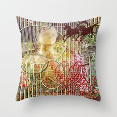 The Relative Frequency of the Causes of Breakage of Plate Glass Windows (2) Throw Pillow