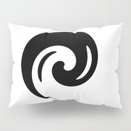 Yin Yang Exagerated Pillow Sham