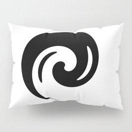 Yin Yang Exagerated Pillow Sham