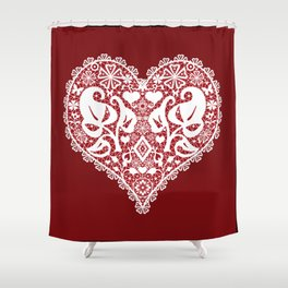 You . With Love . Shower Curtain