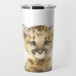 Little Mountain Lion Travel Mug