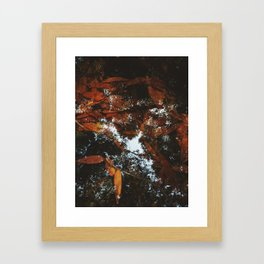 September's Reflection Framed Art Print